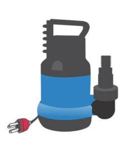 Pumper vann/luft